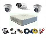 Trọn Bộ 3 Camera Hikvision 1MP – HD720P