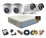 Trọn bộ 5 camera Hikvision 1Mp