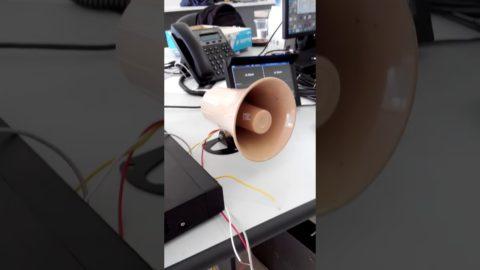 Video Demo Báo Động Trên Đầu Ghi Dahua  XVR5104HE