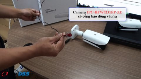 Video Hướng Dẫn Kết Nối Cổng Alarm Out Trên Camera Dahua IP