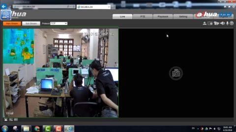 Hướng Dẫn Cài Đặt Camera Nhiệt TPC BF2120 DSS Dahua