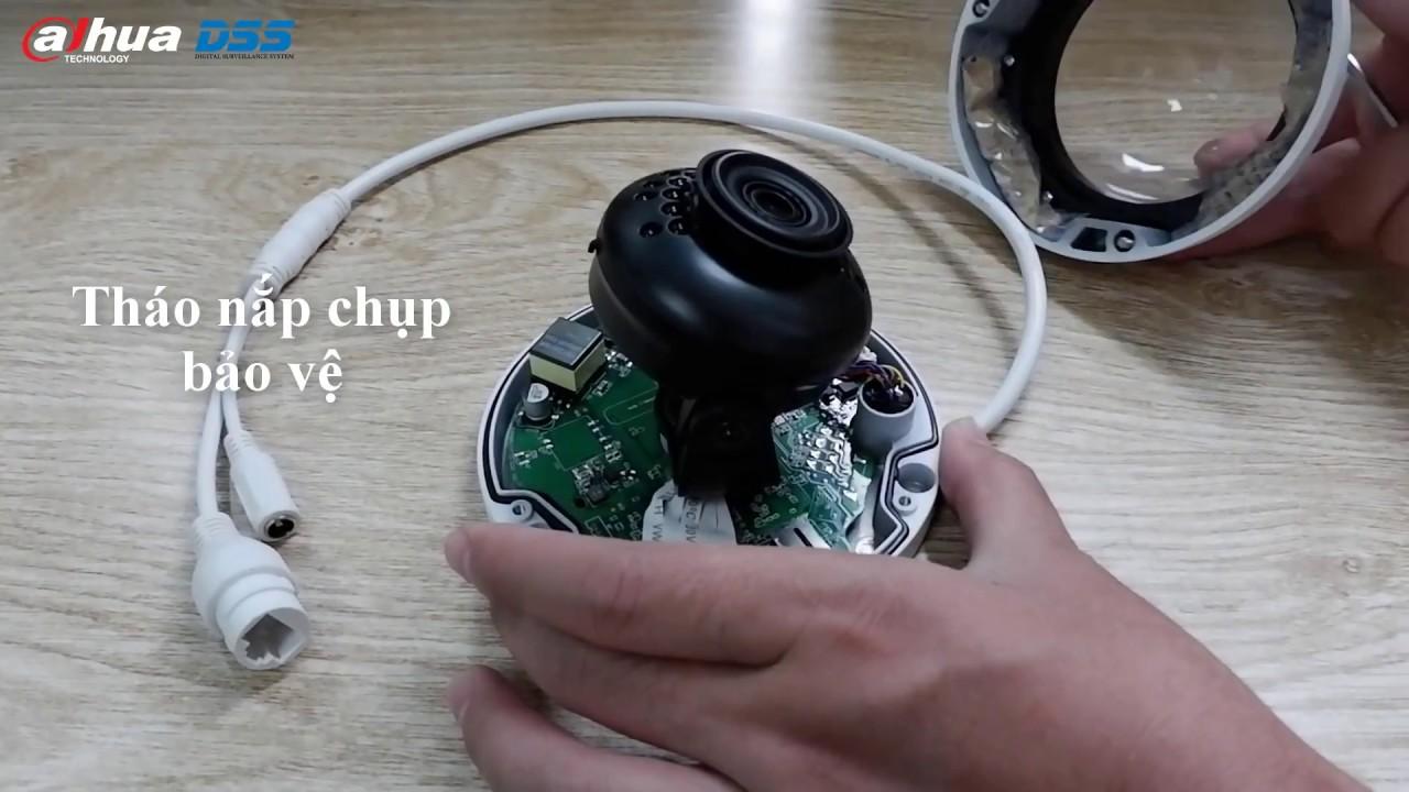 Hướng Dẫn Cài Đặt & Sử Dụng Camera Mini Dome IPC HDBW1230EP-S