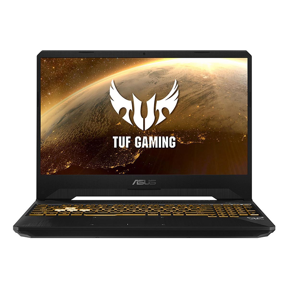 Laptop Asus TUF Gaming FX505DT-AL003T AMD R7-3750H/ GTX 1650 4GB/ Win10 (15.6″ FHD IPS 120Hz) – Hàng Chính Hãng