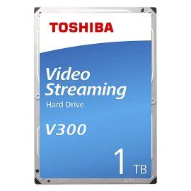 Ổ Cứng HDD Toshiba 3.5″ 1TB VideoStream V300 series (64MB) 5700rpm SATA3 (6Gb/s) HDWU110UZSVA – Hàng Chính Hãng