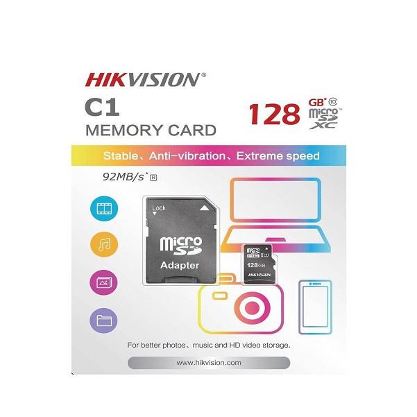 Thẻ Nhớ Micro SD Hikvision 128Gb Class 10 – Hàng Chính hãng