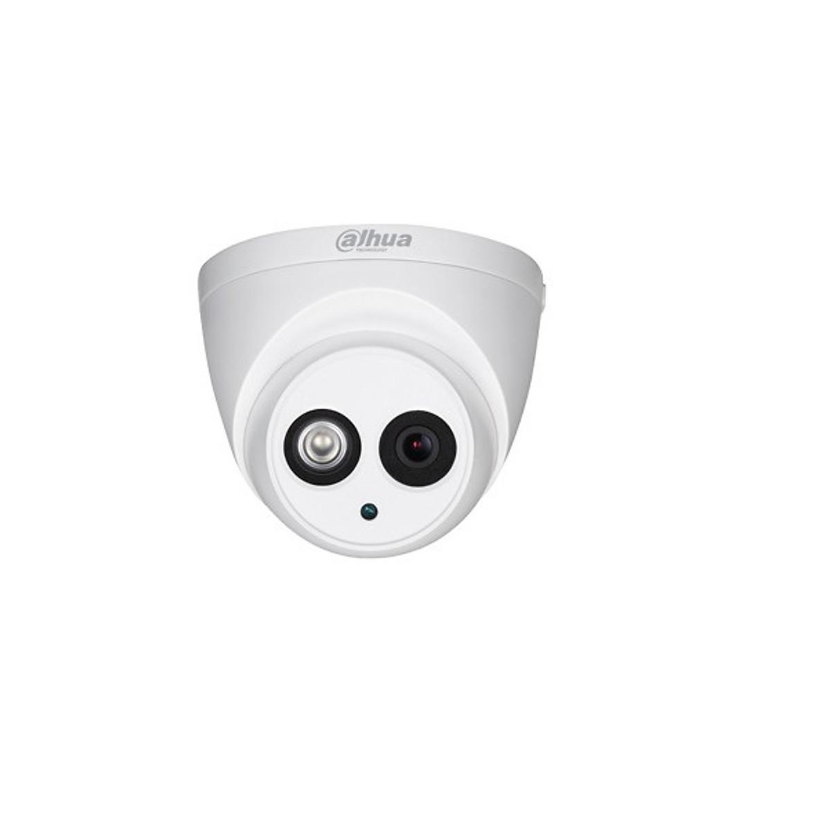 Camera HDCVI 2MP Dahua HAC-HDW1200EMP-A-S4 có sẵn micro – Hàng Chính Hãng