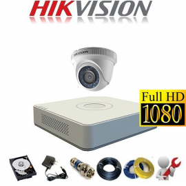 Trọn Gói 1 Camera Analog Hikvision 2MP – HD1080P