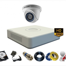 Trọn Gói 1 Camera Analog Hikvision 1MP – HD720P