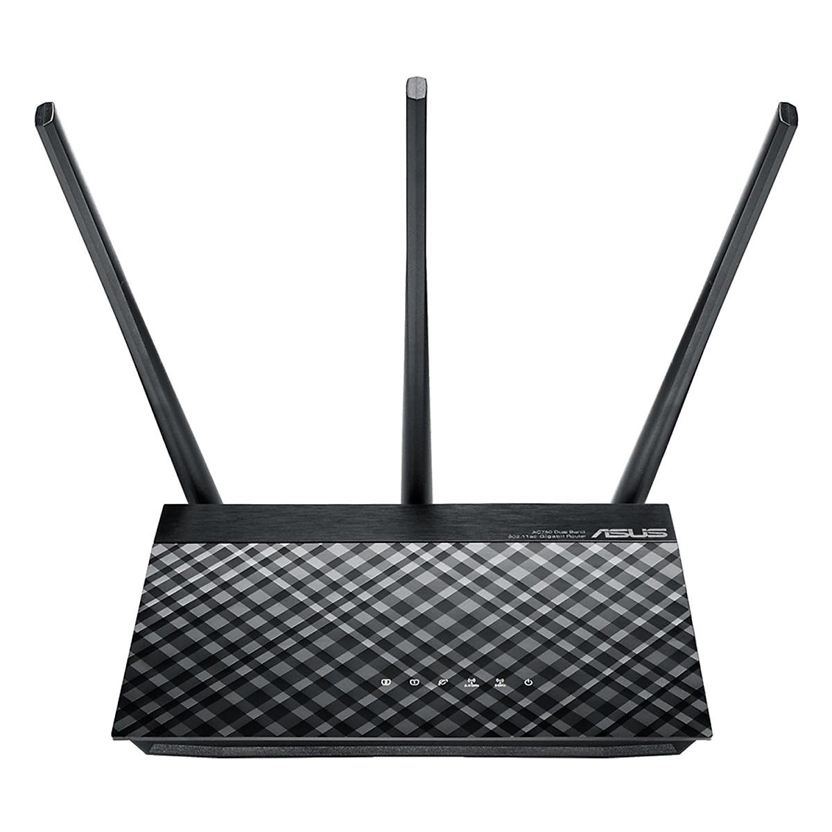 Router Wifi Băng Tầng Kép ASUS AC750 RT-AC53 – Hàng Chính Hãng