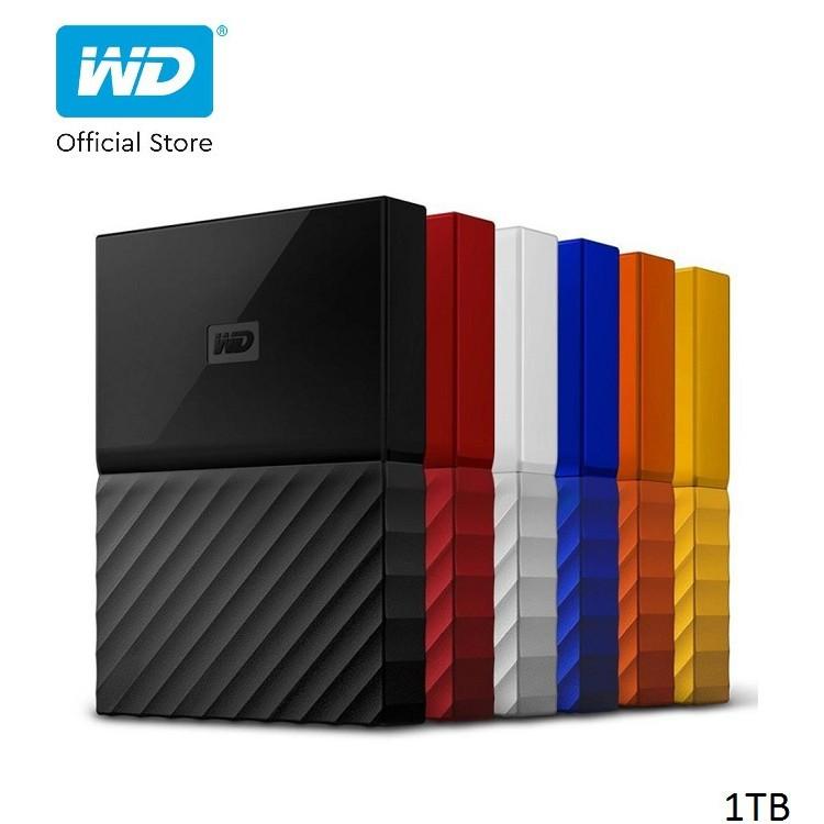[Mã ELWDSD giảm 8% tối đa 300K] Ổ cứng WD My Passport 2.5 INCH 1TB Portable-