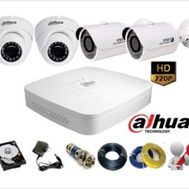 Trọn Gói 2 Camera Analog Dahua 1Mp (720P)
