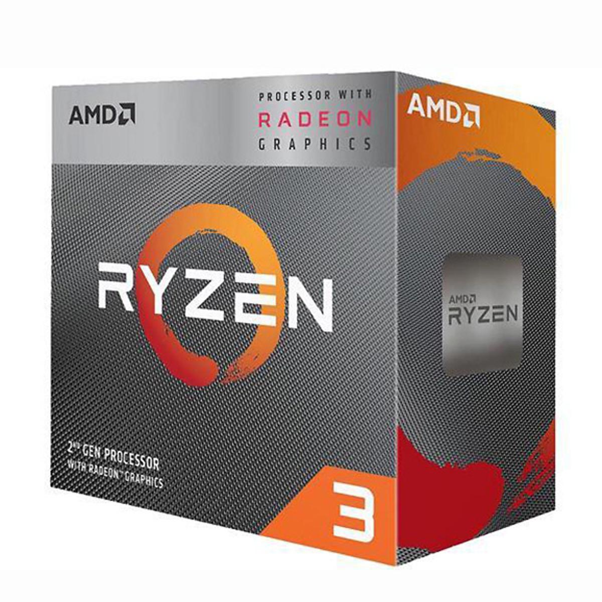 Bộ vi xử lý CPU AMD Ryzen 3 3200G – Hàng chính hãng