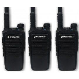 Bộ 3 Bộ đàm Motorola M8 – Hàng chính hãng