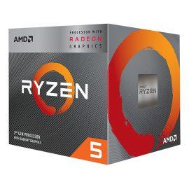 Bộ Vi Xử Lý CPU AMD Ryzen Processors 5 3400G – Hàng Chính Hãng