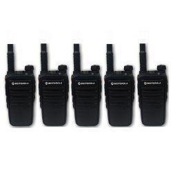 Bộ 5 Bộ đàm CP318 Motorola – Hàng Chính Hãng