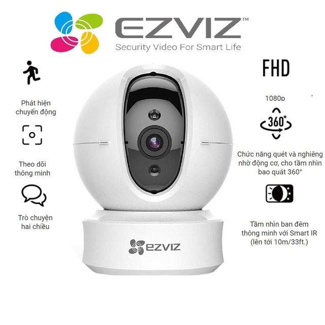 Camera Wifi dòng P/T EZVIZ _CS-CV246 720P – Hàng chính hãng