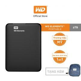 [Mã ELWDSD giảm 8% tối đa 300K] Ổ cứng WD Elements 2TB-2.5 INCH-.
