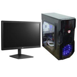 Bộ máy tính bàn văn phòng, pc building nguyên bộ để bàn cao cấp 4TechVP PC4822 sử dụng được 2 màn hình, CPU Core i5, đủ phím chuột dùng cho cá nhân, công ty, trường học đã cài đặt để sử dụng ngay, thiết kế nhỏ gọn dùng vào mạng, chơi game tốt. – Hàng Chính Hãng.