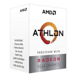 Bộ Vi Xử Lý CPU AMD Athlon 240GE Processor with Radeon Vega 3 Graphics – Hàng Chính Hãng