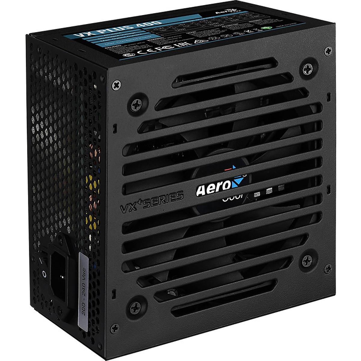 Nguồn máy tính Aerocool VX PLUS 400 230V N-PFC – Hàng Chính Hãng