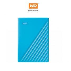 [Mã ELWDSD giảm 8% tối đa 300K] Ổ cứng WD My Passport 2.5 INCH( USB 3.2) 2TB Portable( Xanh)-