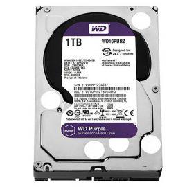 Ổ Cứng Camera WD Purple 1TB/64MB/3.5 IntelliPower WD10PURZ/WD10PURX – Hàng Chính Hãng