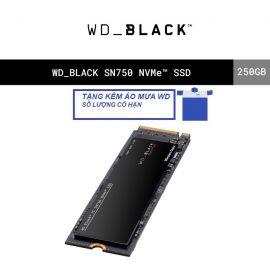 [Mã ELWDSD giảm 8% tối đa 300K] Ổ cứng SSD WD Black 250GB SN750 M.2 PCIe Gen3 x4 NVMe WDS250G3X0C