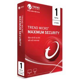 Phần Mềm Diệt Virus Trend Micro Internet Security Bản Quyền 1 PC 12 Tháng – Hàng chính hãng