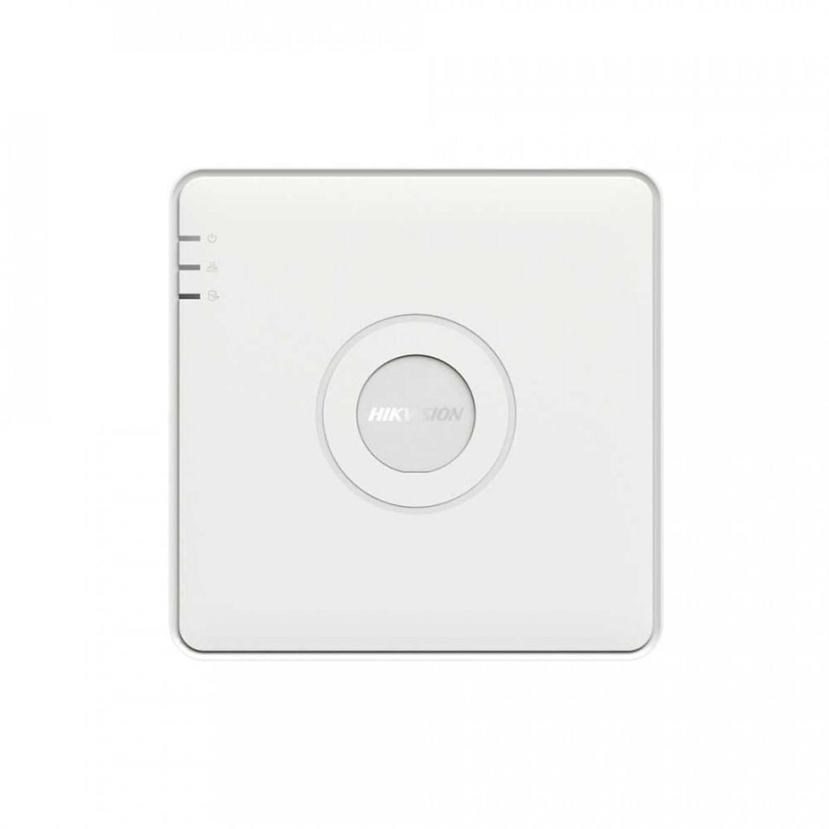 Đầu Ghi Hình Camera IP Wifi Không Dây 4 Kênh NVR – Hikvision DS-7104NI-Q1/4P-Hàng Chính Hãng
