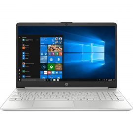 Laptop HP 15s-fq1017TU, Core i5-1035G1(1.00 GHz,6MB),4GB RAM,512GB SSD,Intel UHD Graphics,15.6″HD,Wlan ac+BT,3cell,Win 10 Home 64,Silver_8VY69PA – Hàng Chính Hãng