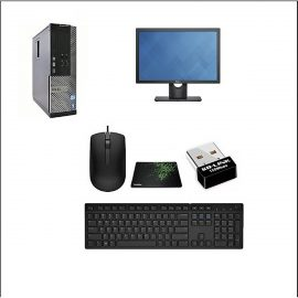 BỘ Máy Tính Đồng Bộ Dell  Core i7 3770/Ram8Gb/HDD 500gb/SSD 120gb và Màn hình Dell 21.5 inch  BÀN PHÍM CHUỘT – HÀNG NHẬP KHẨU