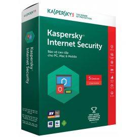 Kaspersky Internet Security – 5pc – Sản phẩm chính hãng