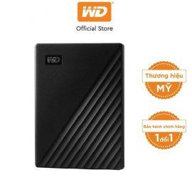 [Mã ELWDSD giảm 8% tối đa 300K] Ổ cứng WD My Passport 2.5 INCH( USB 3.2) 2TB Portable( Đen)-