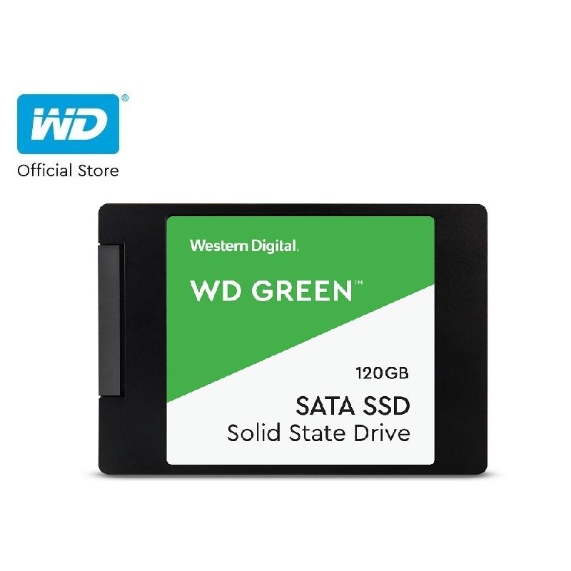 [Mã ELWDSD giảm 8% tối đa 300K] Ổ Cứng SSD WD Green 120GB 3D NAND-WDS120G2G0A