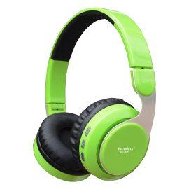 Tai Nghe Bluetooth Chụp Tai Soundmax BT-100 – Hàng Chính Hãng – Xanh Lá