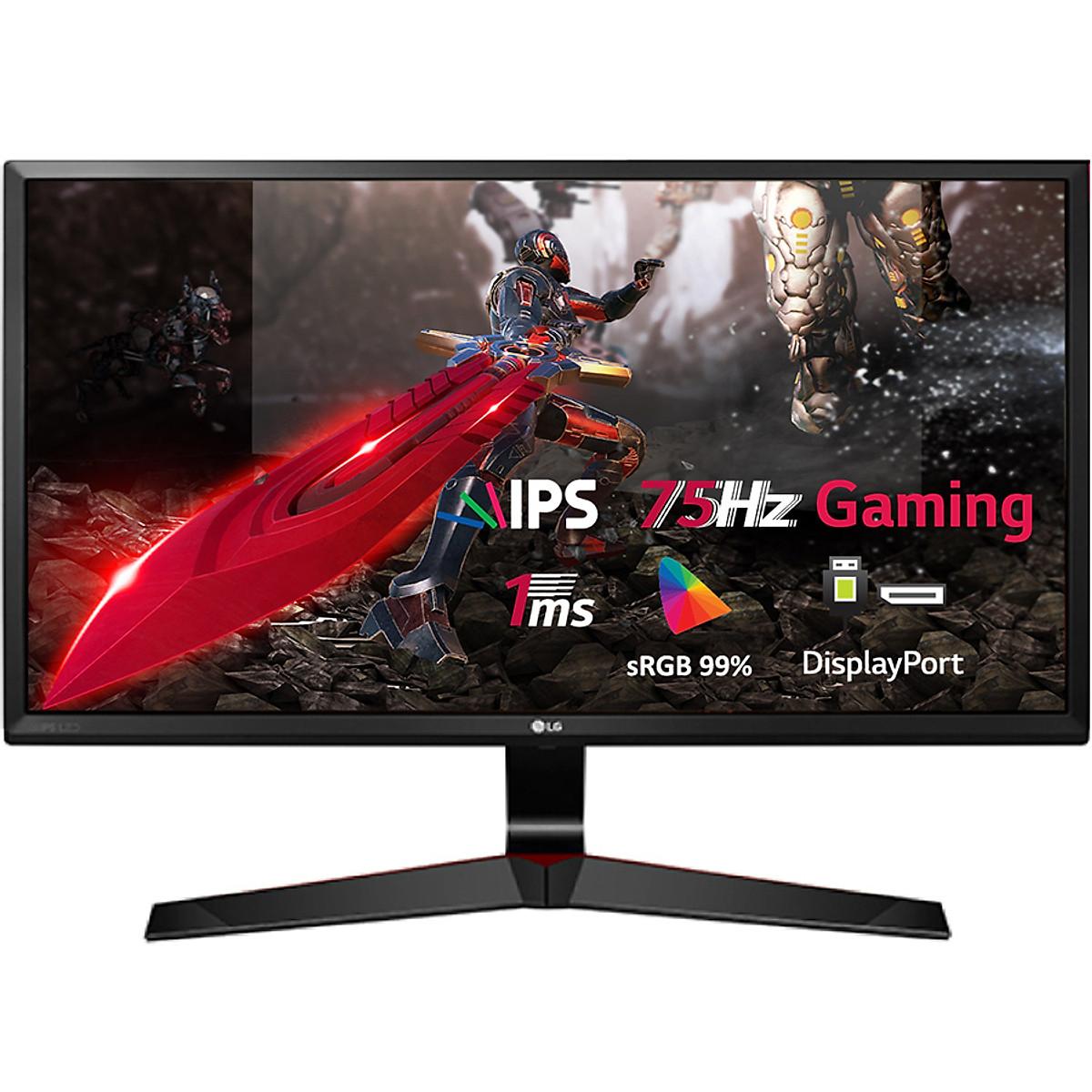 Màn Hình Gaming LG 27MP59G-P 27inch FullHD 1ms 75Hz FreeSync IPS – Hàng Chính Hãng
