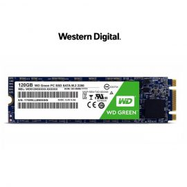 [Mã ELWDSD giảm 8% tối đa 300K] Ổ cứng SSD Western Digital Green M.2 2280 Sata III 120GB WDS120G2G0B