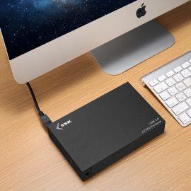 Hộp Đựng Ổ Cứng Gắn Ngoài HDD Box 3.0 SSK HE-G3000 3.5 Sata AZONE – Hàng Nhập Khẩu