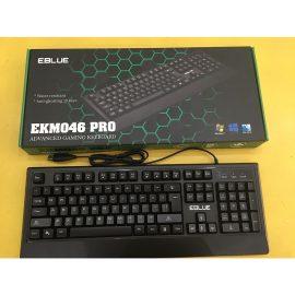 Bàn phím có dây chuyên gaming EKM046 PRO – Giá rẻ – Chống nước –  Hàng chính hãng
