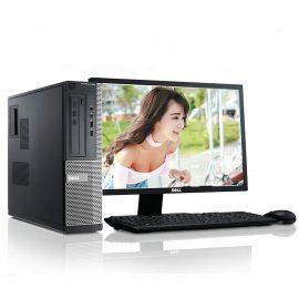 Bộ máy tính để bàn Dell Optiplex  ( Core i5 3470  / 8G / SSD 120GB  /  500Gb ), Màn hình Dell 19″ Wide LED – Hàng Nhập Khẩu