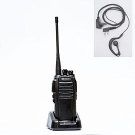 Bộ đàm chính hãng Hypersia A1, bộ đàm tầm xa sóng radio không bị rè tặng kèm tai nghe bộ đàm cao cấp