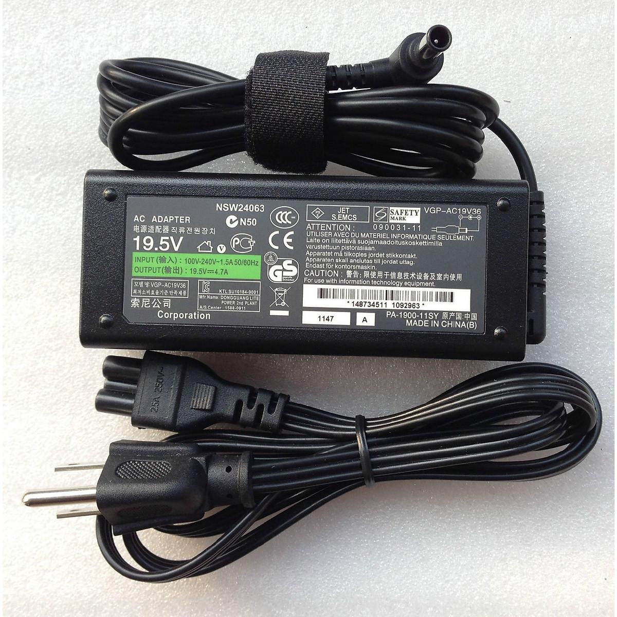 Sạc dành cho Laptop Sony PCG-71811W | Adapter Vaio PCG-71811W