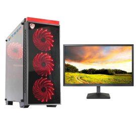 Bộ máy tính để bàn chơi Game VIP đời cao cấu hình khủng giá tốt 4TechGM03 2019 Core i5, Ram 8GB, SSD + HDD, Vga 1050, PC Gaming kèm màn hình 22inch. – Hàng Chính Hãng.