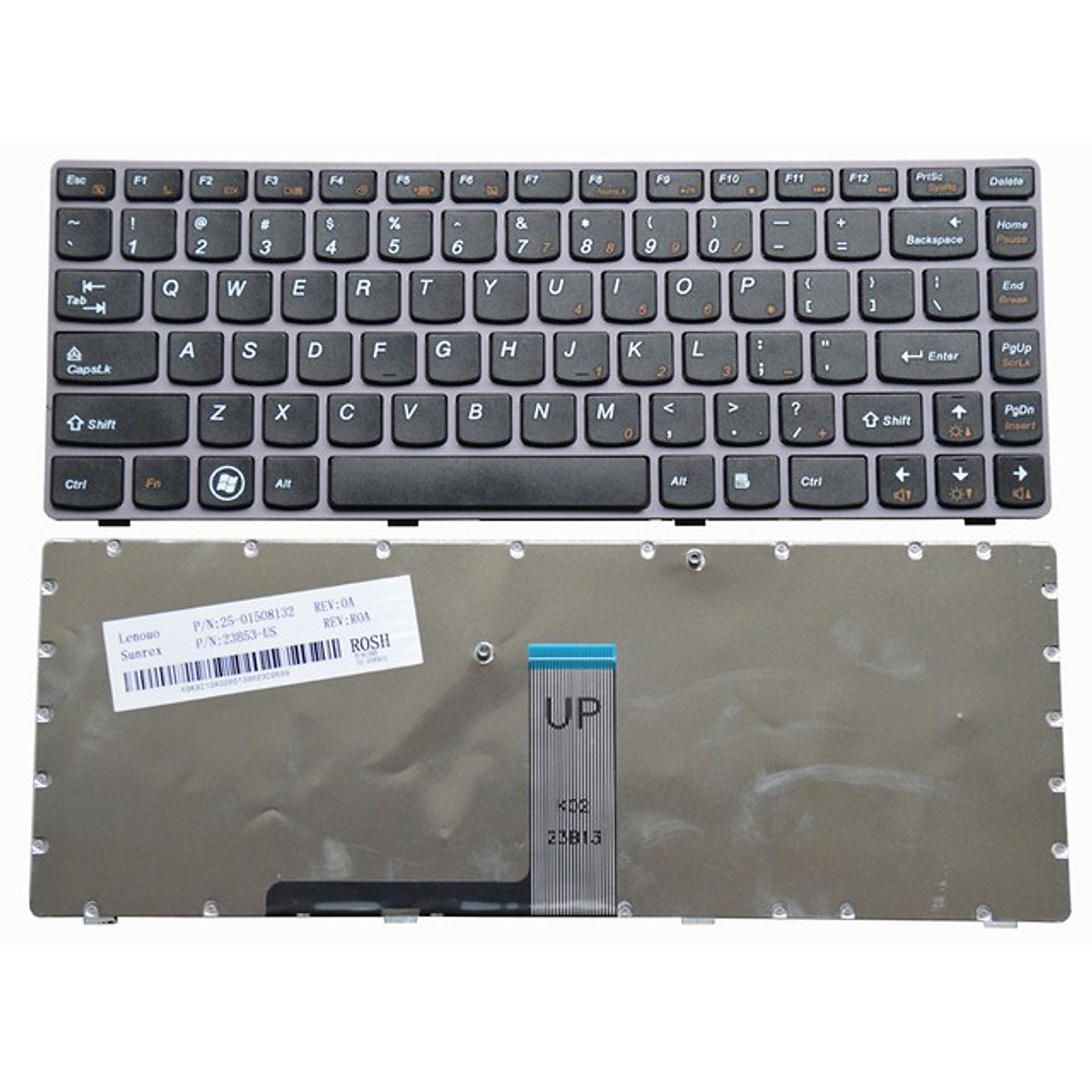 Bàn dùng cho phím laptop Lenovo Ideapad Z370, Z475