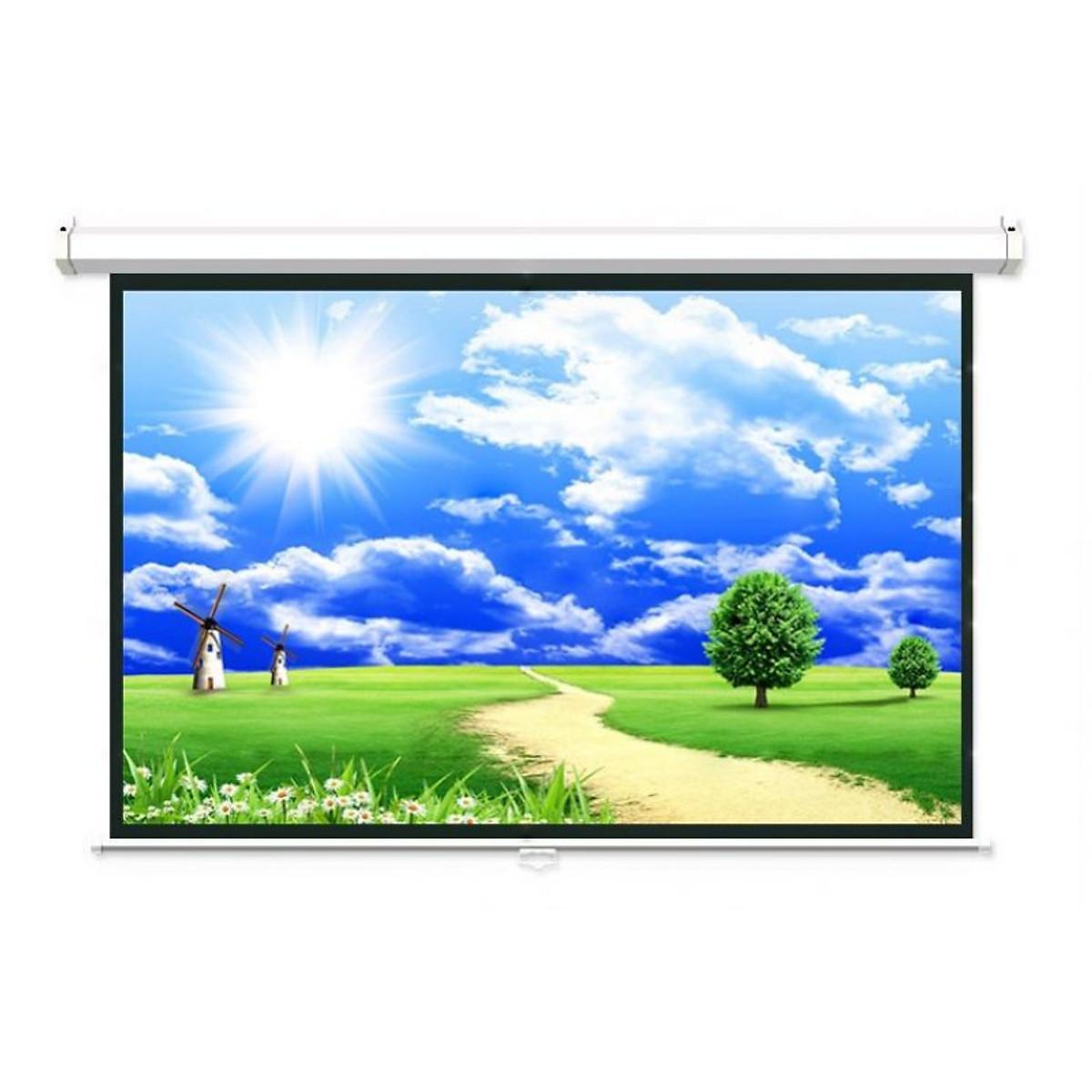 Màn chiếu treo tường DA-LITE P84WS (84×84 Inches) – Hàng chính hãng