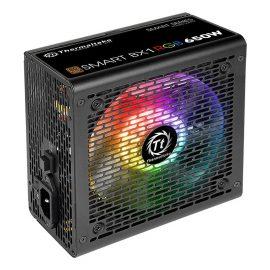 Nguồn Máy Tính PSU Thermaltake Smart BX1 RGB 650W 80 Plus Bronze PS-SPR-0650NHSABX-1 120mm – Hàng Chính Hãng