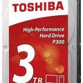Ổ Cứng HDD Toshiba 3TB P300 series (64MB) 7200rpm SATA3 HDWD130UZSVA – Hàng Chính Hãng