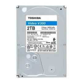 Ổ cứng HDD Toshiba 2TB VideoStream V300 series (64MB) 5700rpm SATA3 HDWU120UZSVA – Hàng Chính Hãng