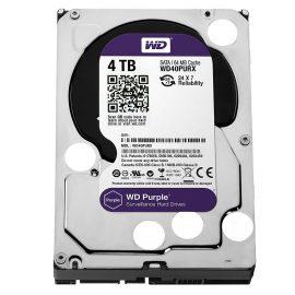Ổ Cứng HDD Camera WD Purple 4TB/64MB/3.5 IntelliPower WD40PURZ – Hàng chính hãng