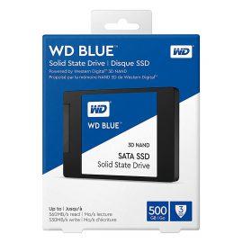 Ổ Cứng SSD WD Blue 3D NAND 500GB WD WDS500G2B0A (2.5 inch) – Hàng Chính Hãng